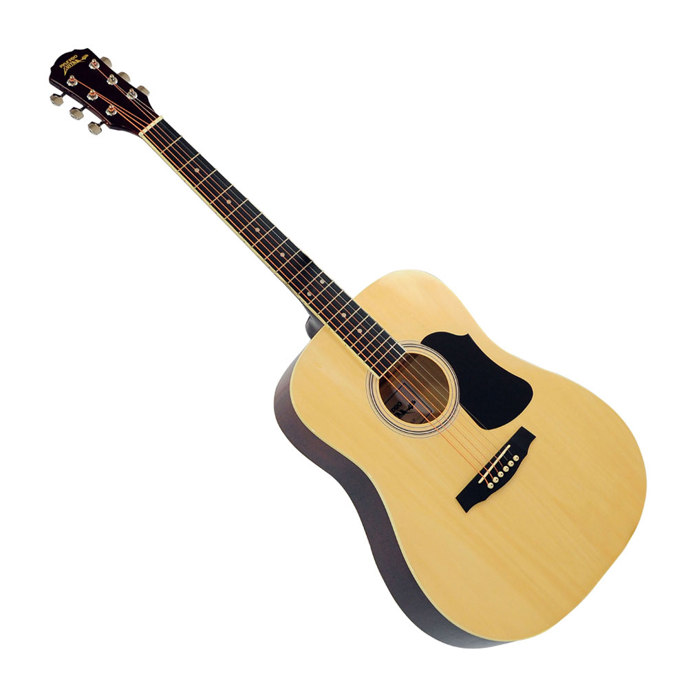 new pyle pga20 professional full size acoustic guitar package w picks tuner bag