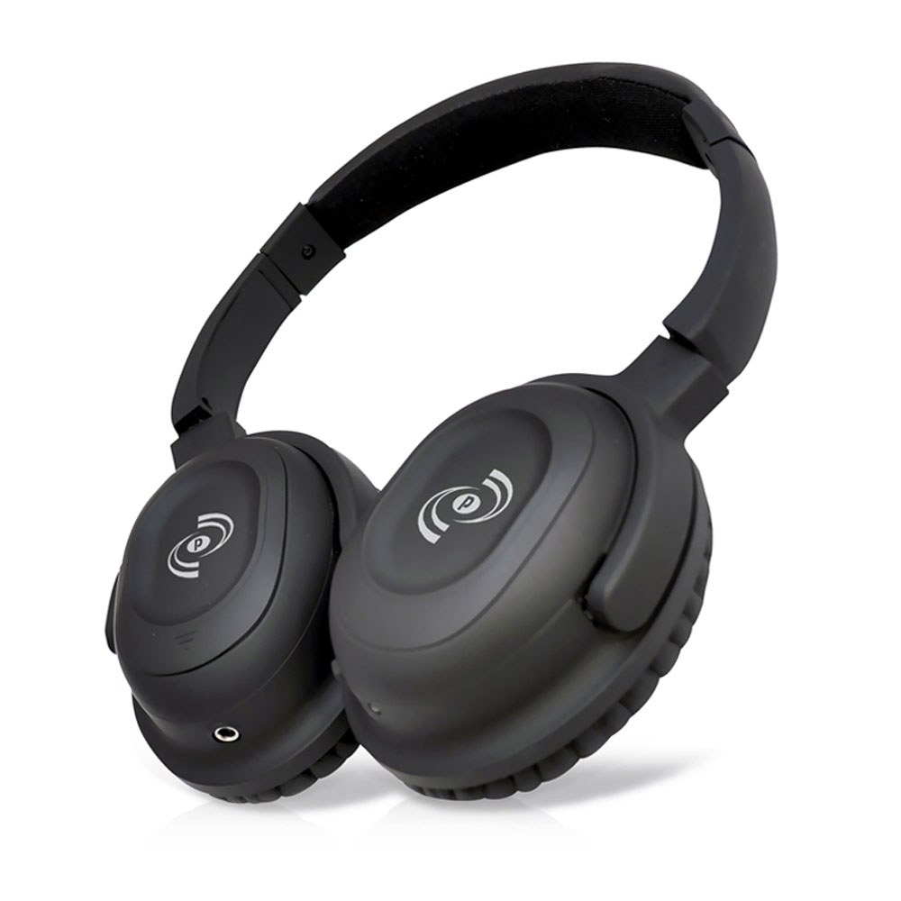 new pyle phbt35 stereo bluetooth streaming wireless headphones w built in mic. Black Bedroom Furniture Sets. Home Design Ideas