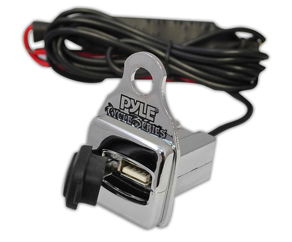 New Pyle Plmca64 600w Motorcycle Amp 2 25 U0026quot  Speakers Usb