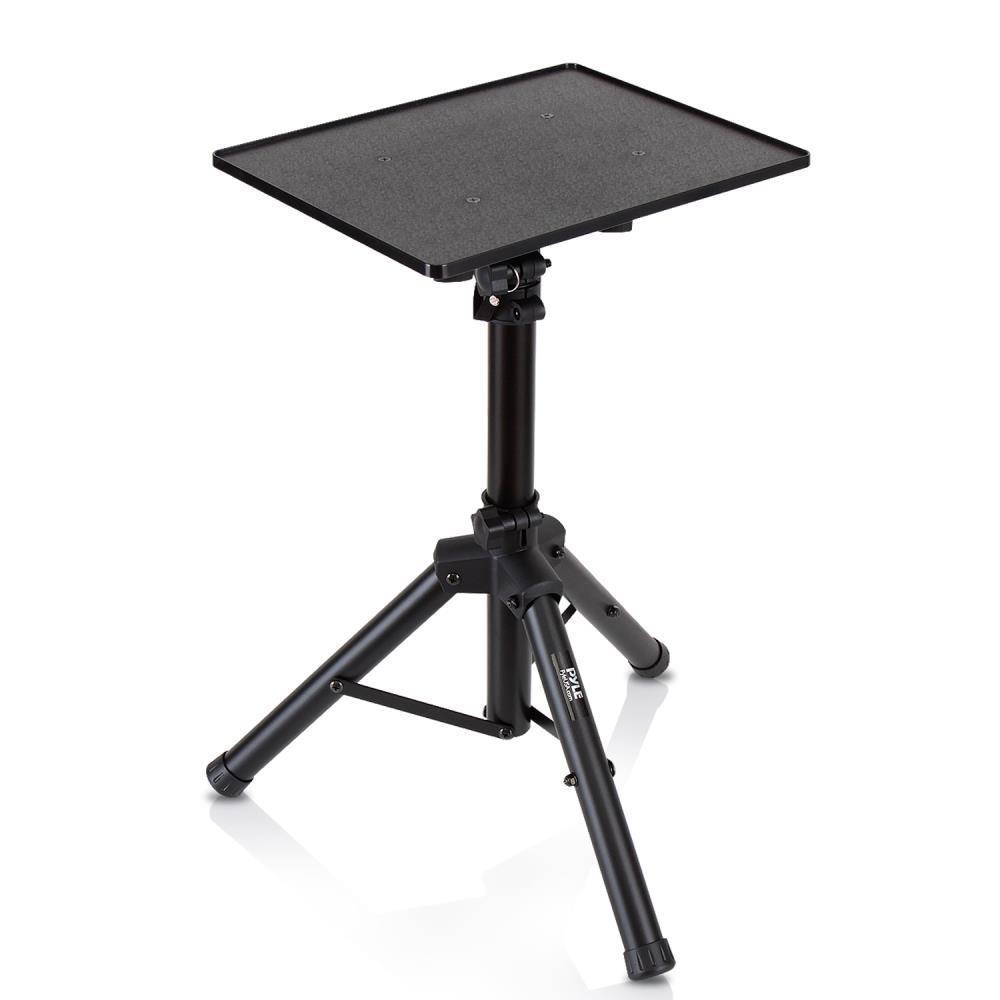 New Pyle Plpts2 Dj Laptop Tripod Adjustable Stand For
