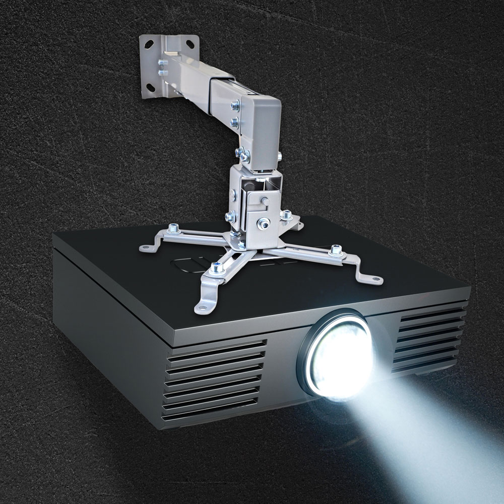New Pyle Prjwm8 Universal Projector Wall Mount W