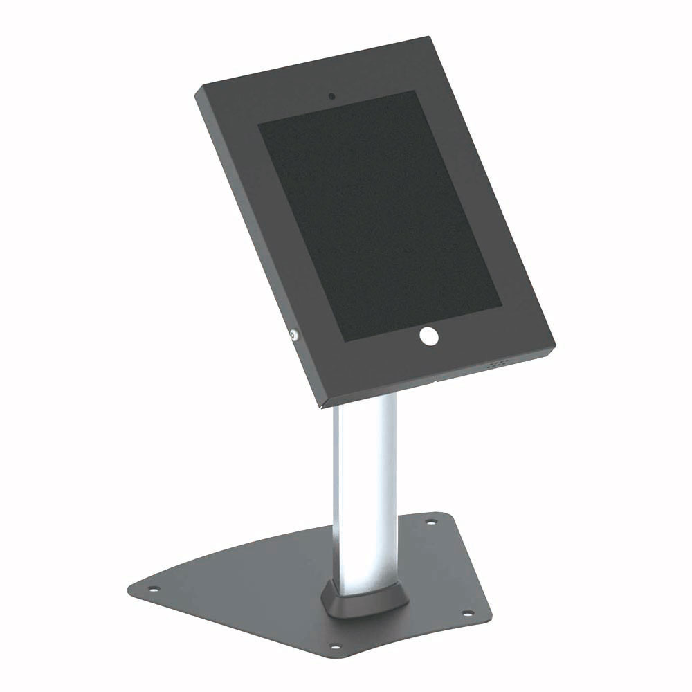 new pyle pspadlk12 anti theft ipad stand holder display case fits ipad 2 3 4 air ebay. Black Bedroom Furniture Sets. Home Design Ideas