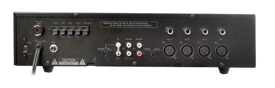 New Pyramid Pa305 300 Watt Pa Amplifier 70v Output Amp Mic