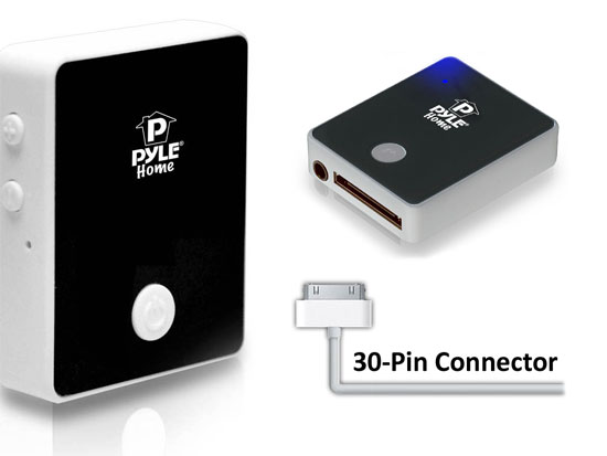 new pyle pbtr60 wireless bluetooth 30 pin ipod docking. Black Bedroom Furniture Sets. Home Design Ideas