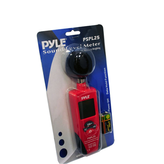 Sound Frequency Meter : New pyle pspl sound level meter w a c frequency