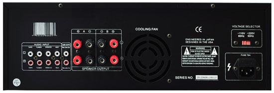 New Pyle Pt1100 1000 Watt 4 Channel 3u Power Amplifier Vfd