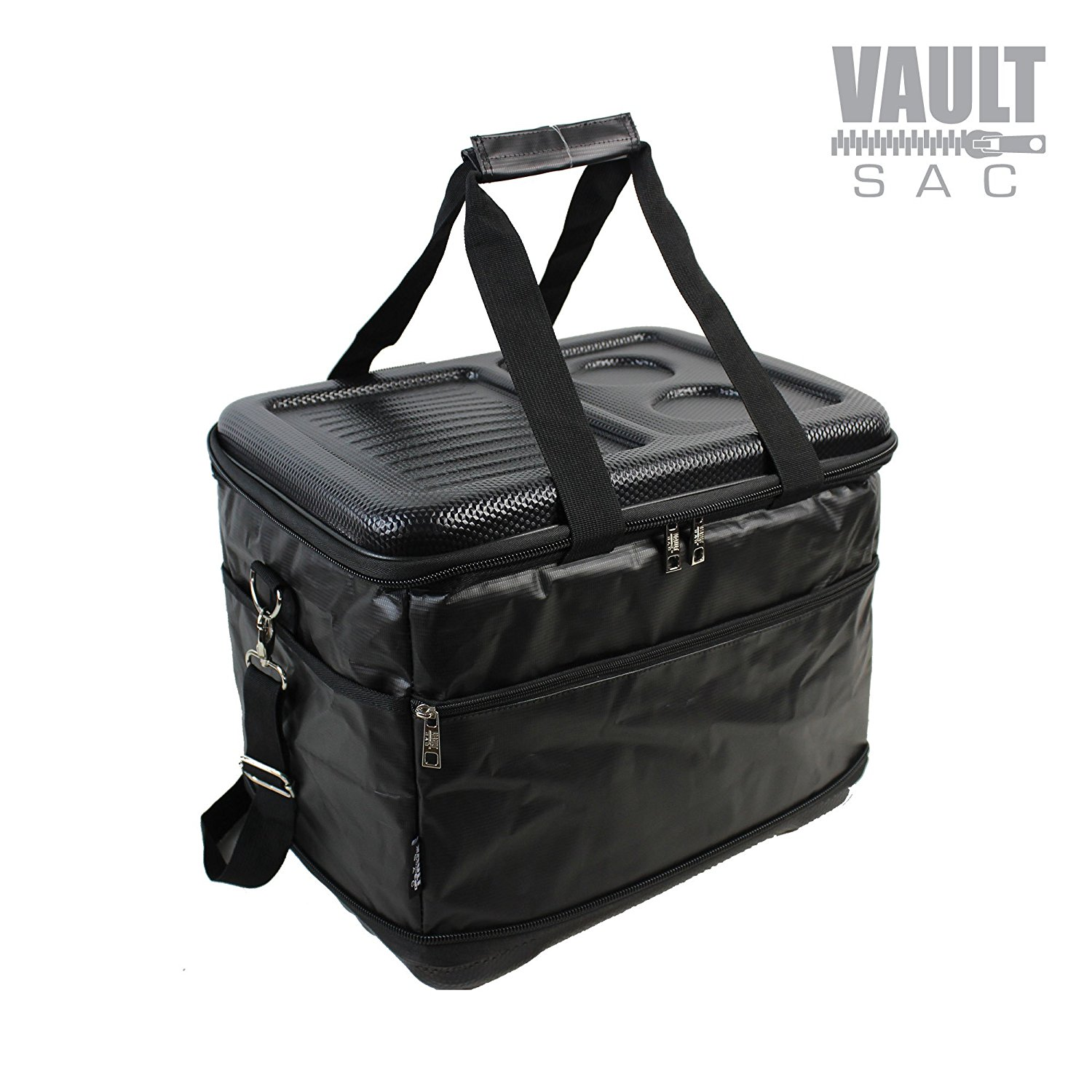 6ad0e84a671b Vaultsac - COOLER-BLACK-30 - Collapsible Folding Insulated Cooler ...