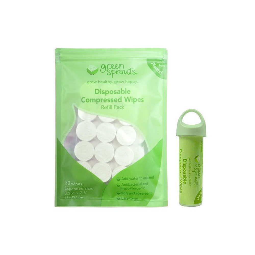 MISC - GREE052229 - Green Sprouts Disposable Compressed
