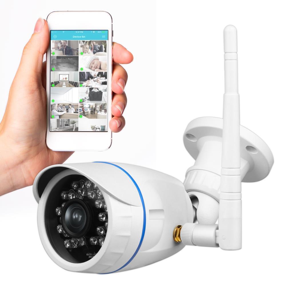 SereneLife - IPCAMHD15 - Outdoor HD Wireless IP Camera - Waterproof