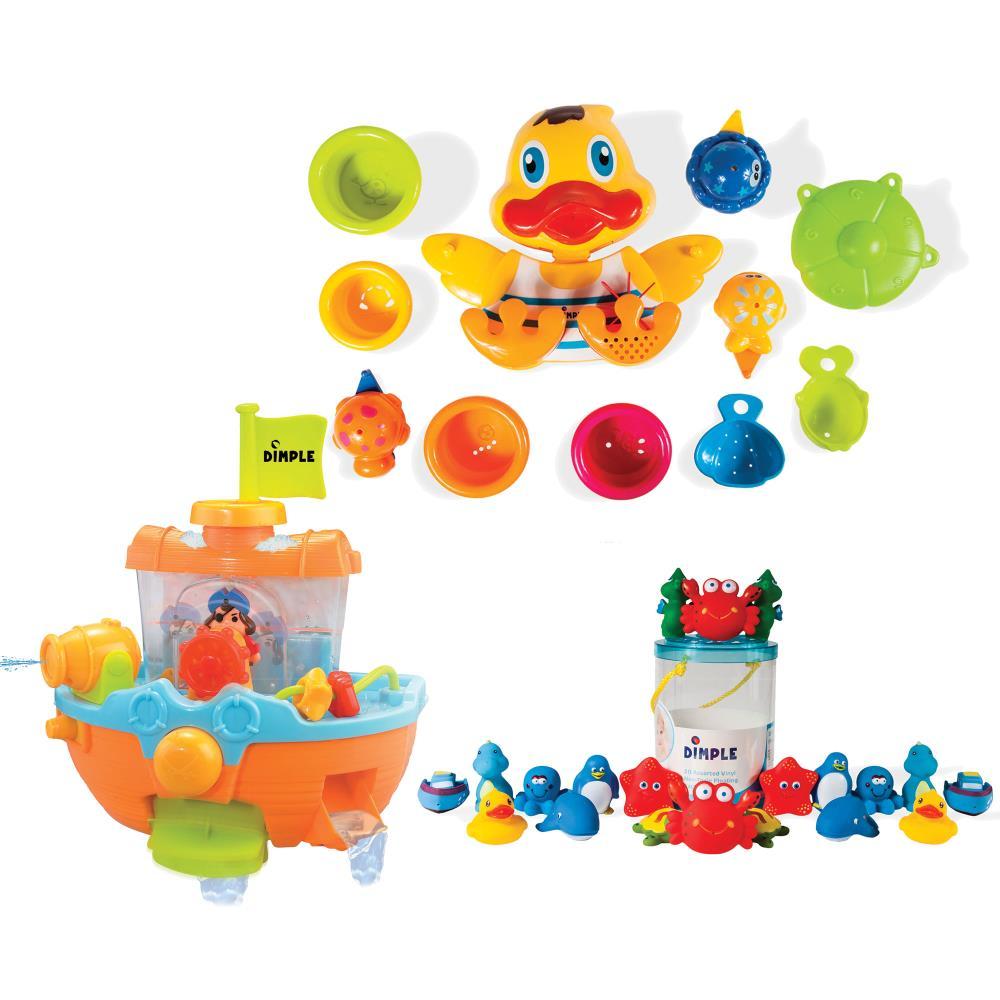 Dimple - KTDCBTH115 - Dimple Ultimate Bath Toy Set for Fun Bathtime ...