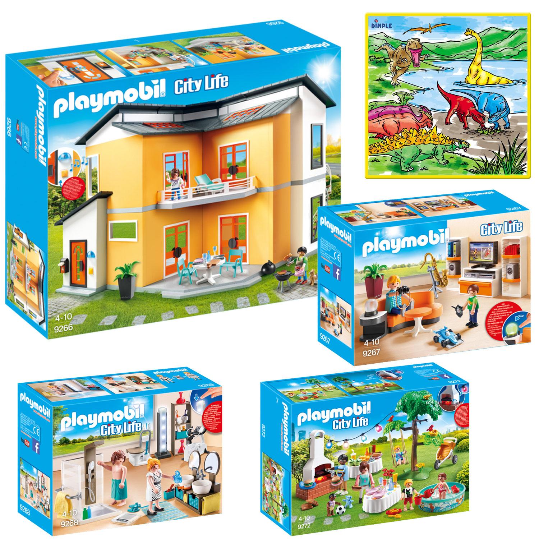 . PlayMobil   KTPM85872   PLAYMOBIL Creative Kids Modern House Mega