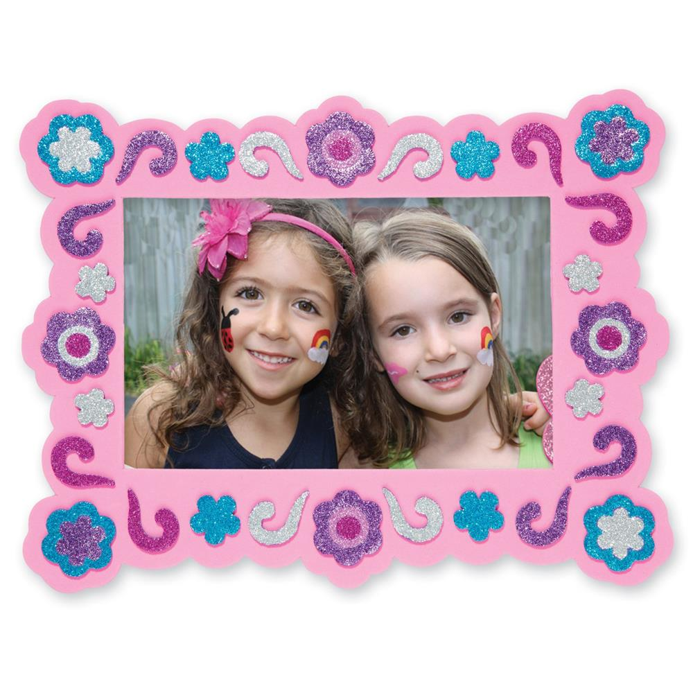 Melissa /& Doug Flower and Butterfly Peel-And-Sparkle Scenes