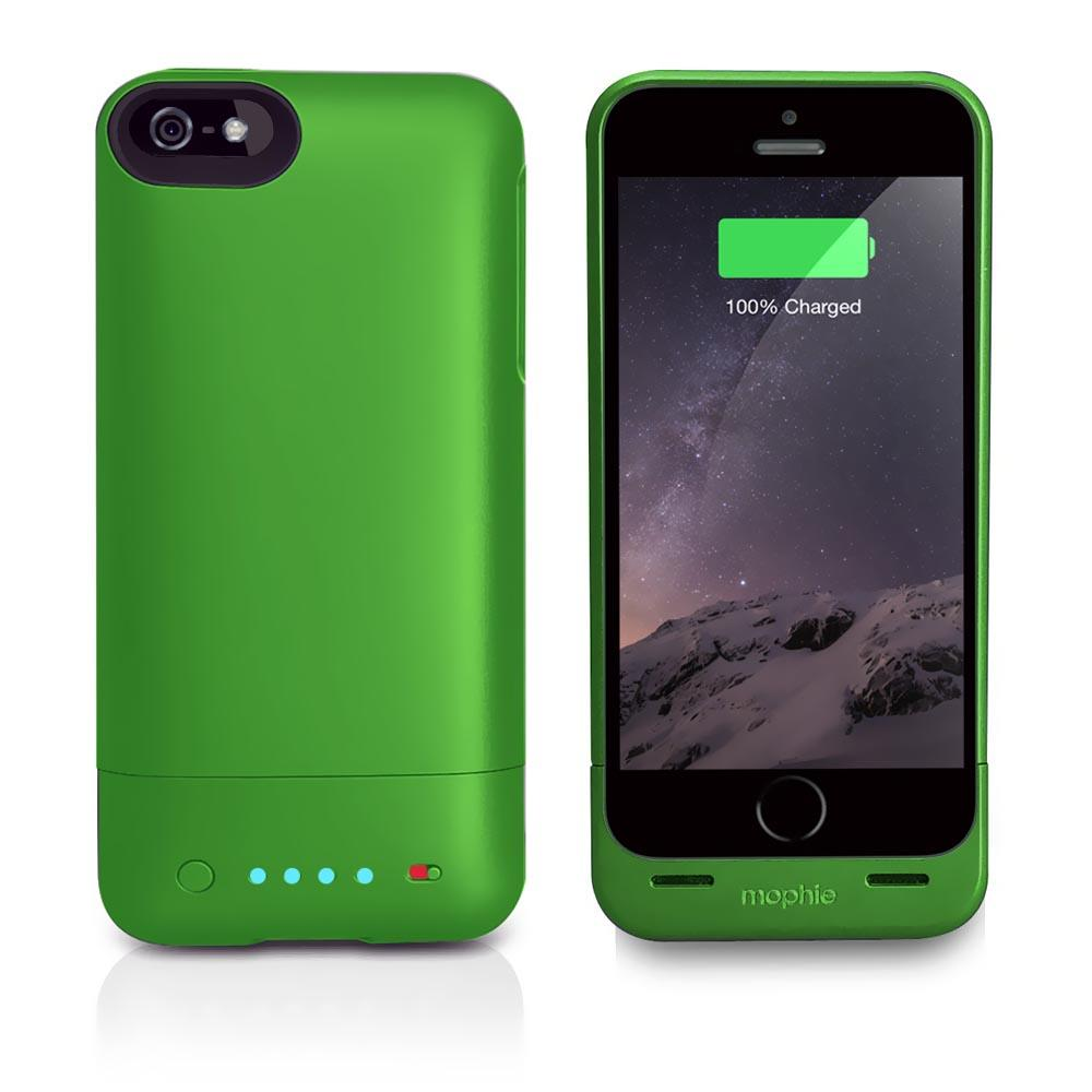 new product 29a96 b859d Mophie - MOP-2541-IP5GRNI - Mophie Juice Pack Helium Battery Case ...