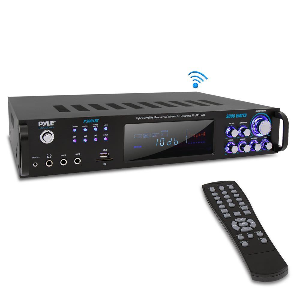 Amazing Pyle P3001Bt Bluetooth Hybrid Amplifier Receiver Home Download Free Architecture Designs Grimeyleaguecom