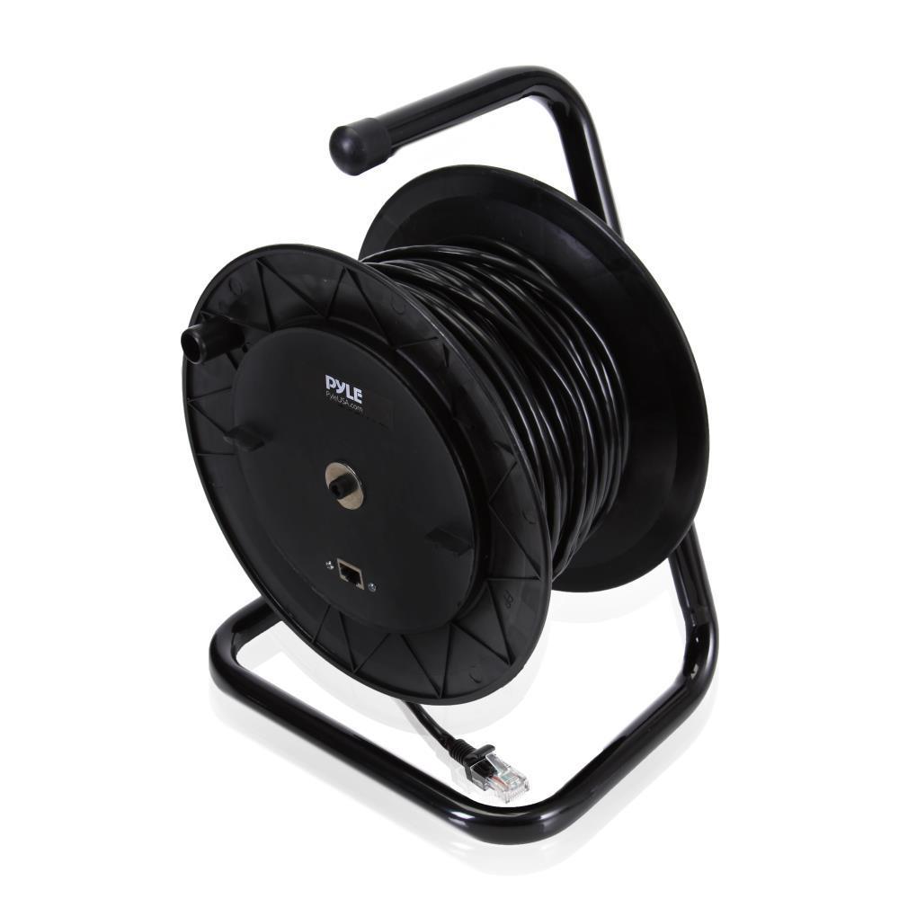 Pyle PCATCBL75 Cat5 Cable Reel 83' ft. Cable Length