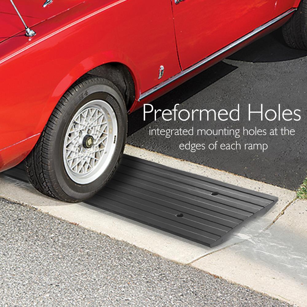 Pyle - PCRBDR24 - Vehicle Driveway Curb Ramp