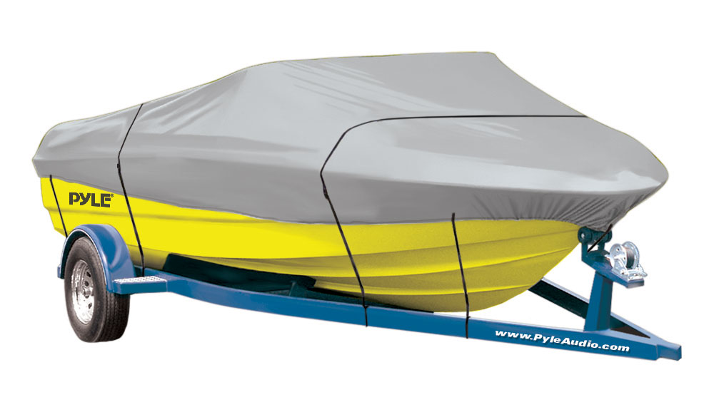 PyleSports Armor Shield Boat Cover 17/'-19/'L to 102/'/' V-Hull Runabouts Outboards