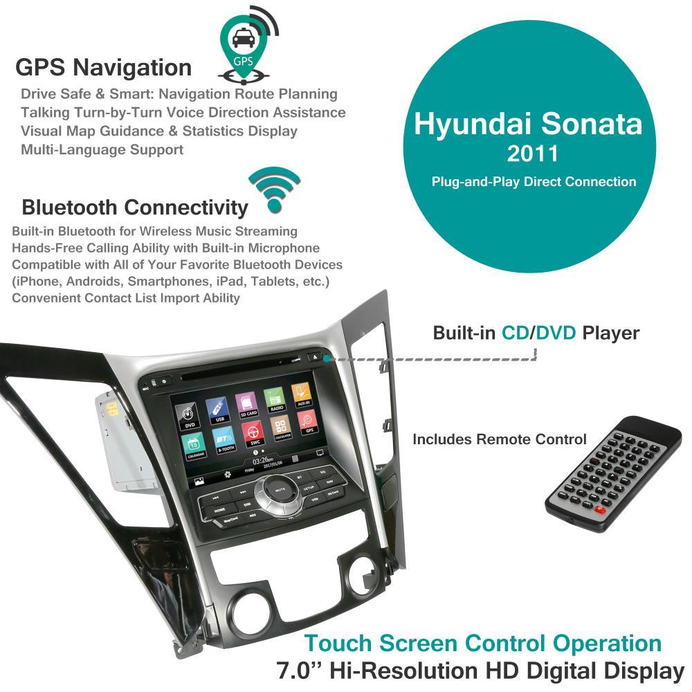 Pyle - PHYSONA11 - 2011 Hyundai Sonata Factory OEM