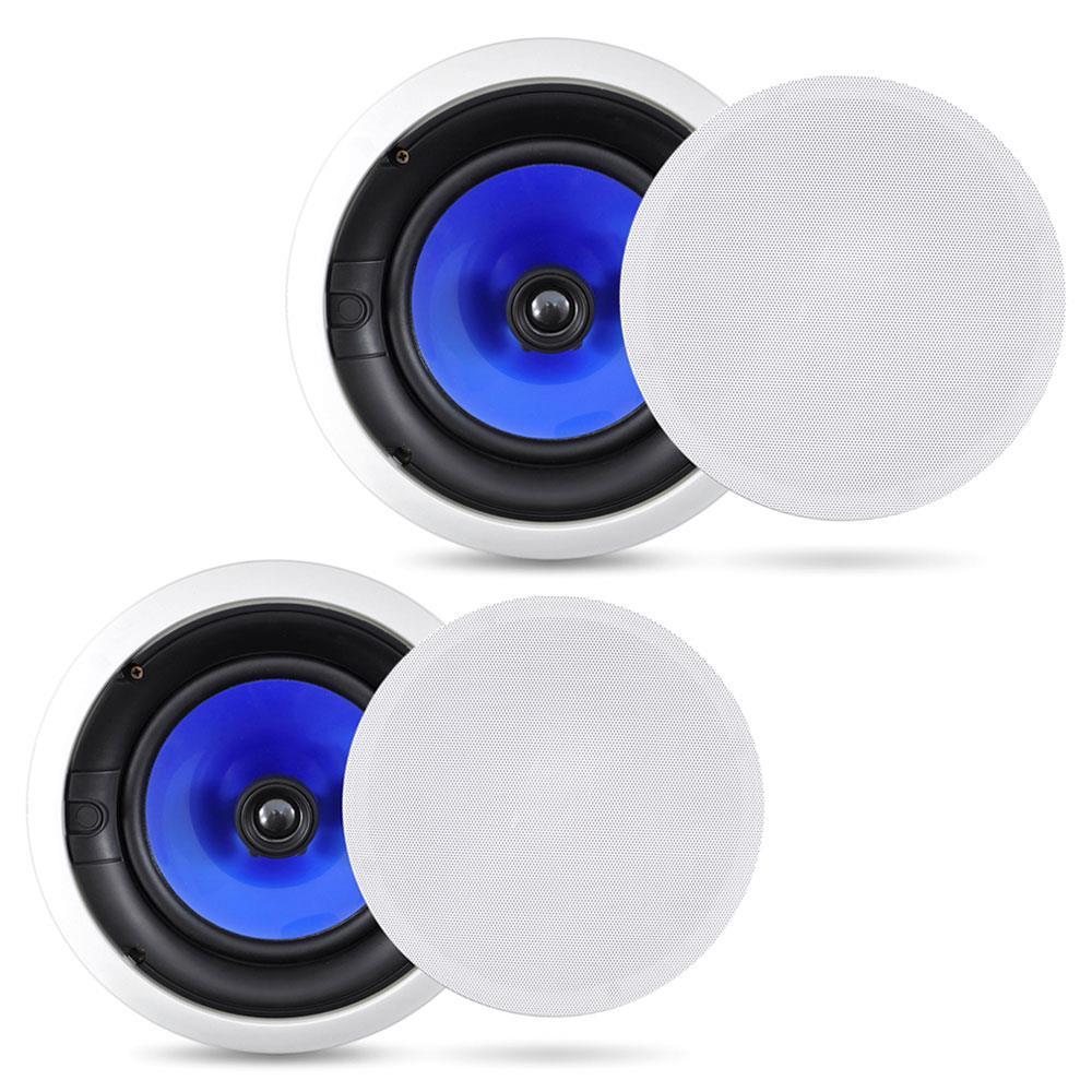 PDIC80-300 Watt 8/'/' Two-Way In-Ceiling Speaker System Pair Pyle