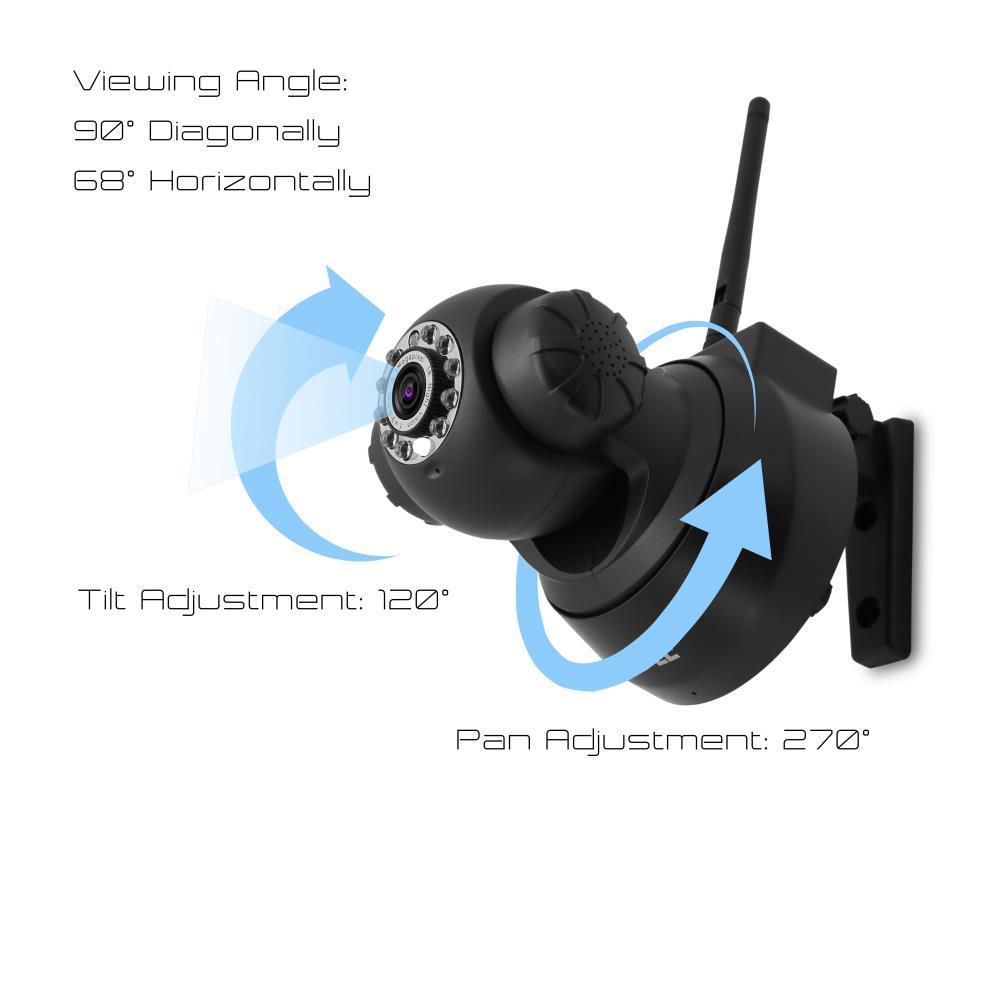 PyleHome - PIPCAM5 - IP Camera Surveillance Security Monitor