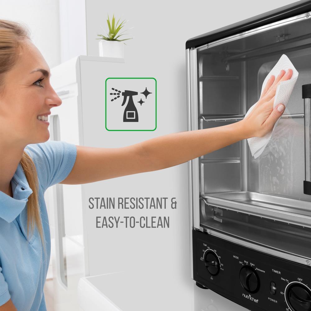 Rotisserie /& Roast Nutri-Chef PKRT97 Multi-Function Vertical Oven with Bake