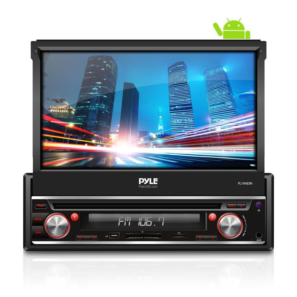 PL7ANDIN pyle pl7andin single din android stereo receiver system with pyle plts76du wiring harness at readyjetset.co