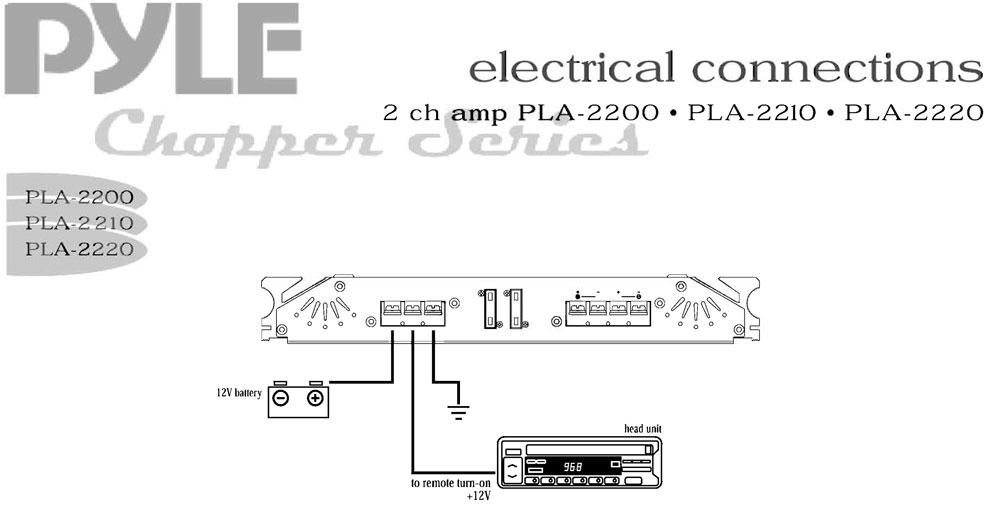 pyle - pla2210 2 channel 1800 watt bridgeable mosfet amplifier