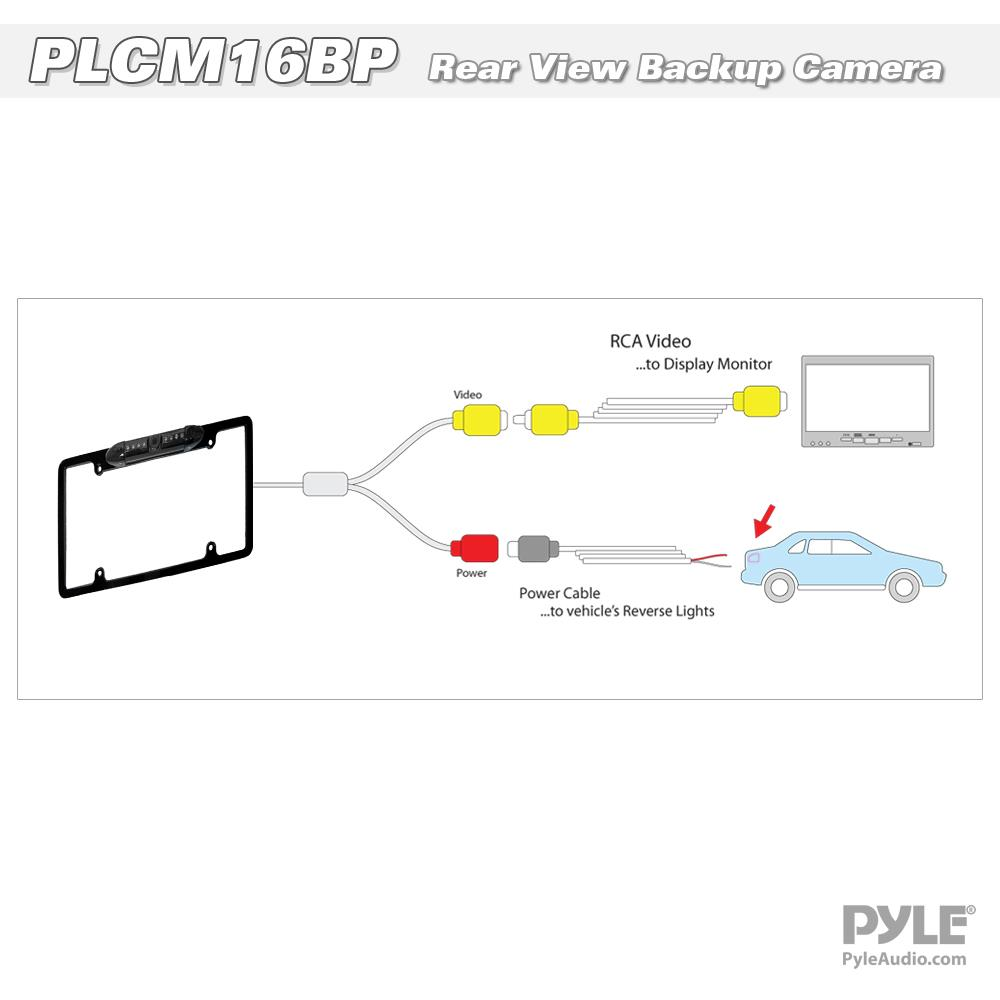 PLCM16BP_diagram reverse camera wiring diagram & pyle backup camera wiring diagram at gsmportal.co