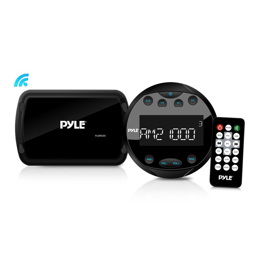 Pyle - PLMR93W - Bluetooth Marine Stereo Radio Receiver System