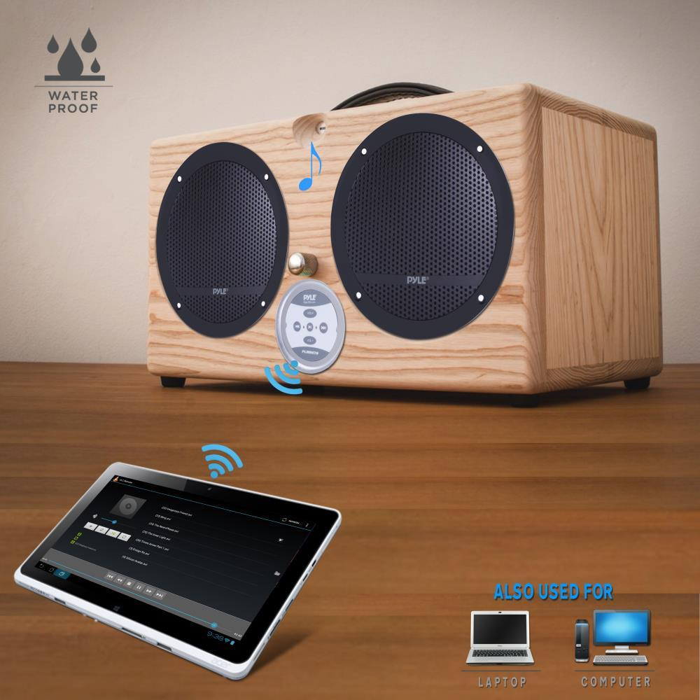 Pyle - PLMRKT9 - Universal Mount Bluetooth Speaker & Amplifier