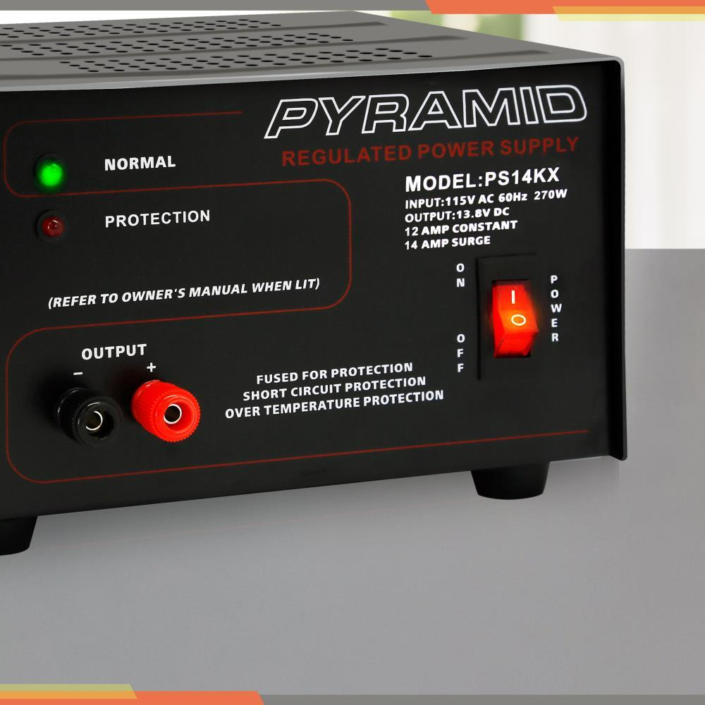 Pyramid Ps14kx 12 Amp Power Supply This Is A Regulated Dc With Short Circuit Protection And