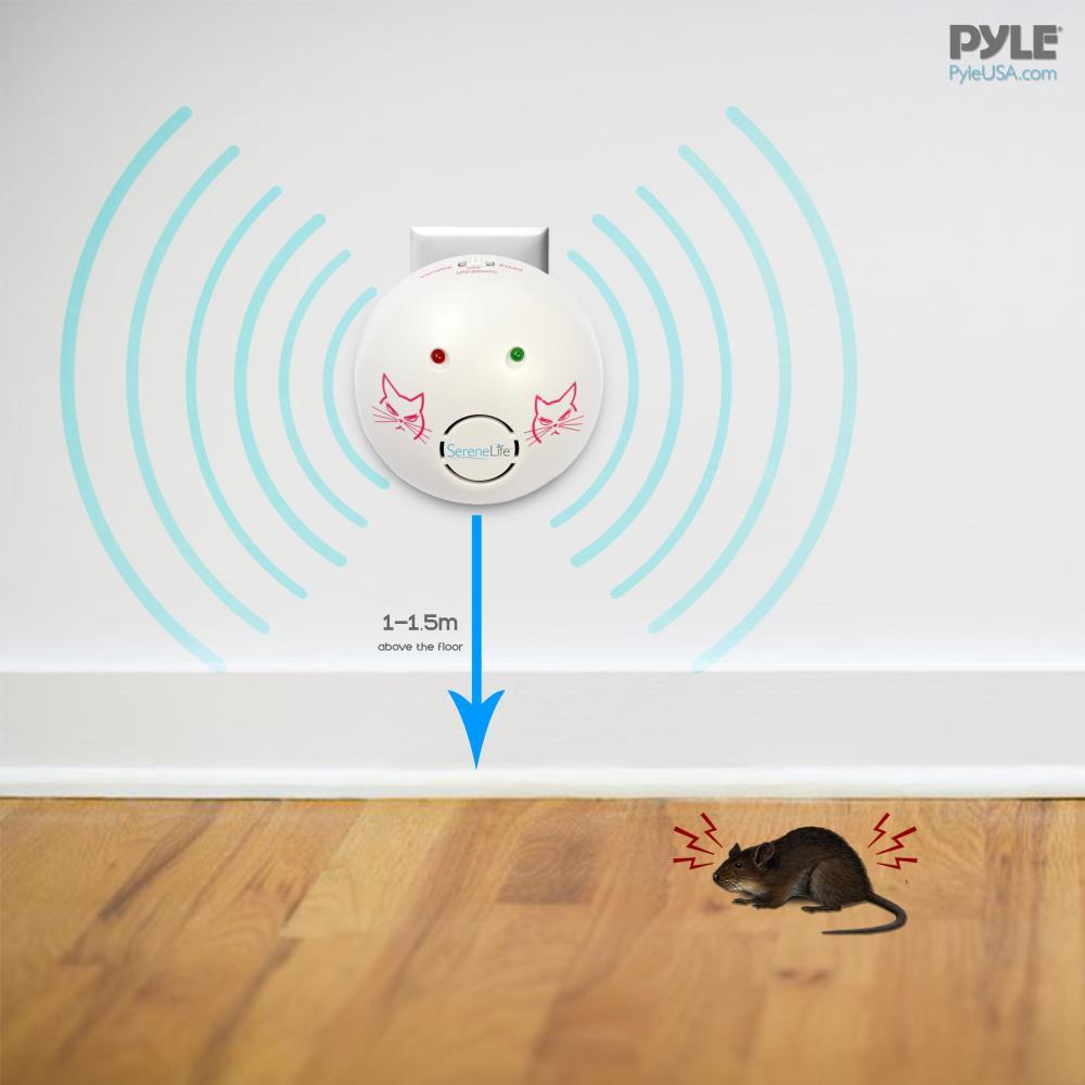 SereneLife - PSLUMR5 - Plug-in Rat & Mouse Repeller
