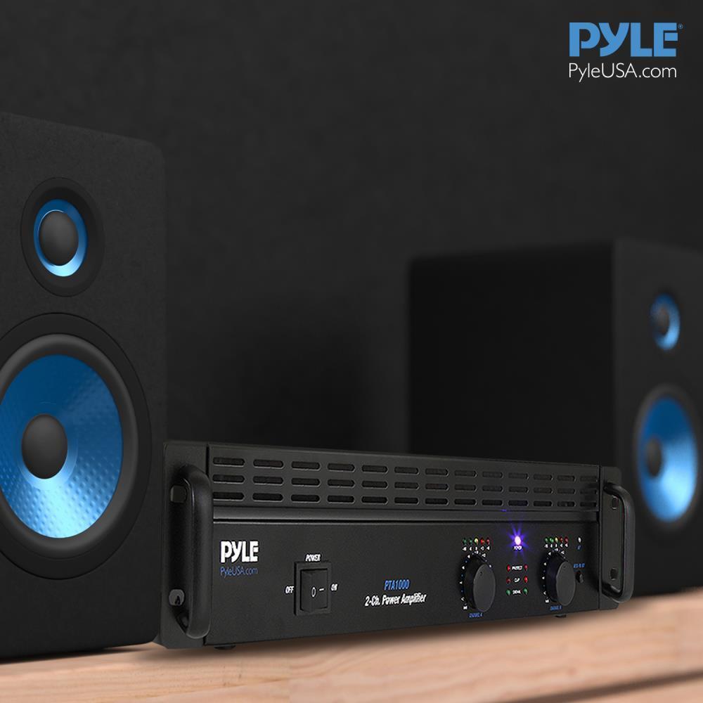 PylePro - PTA1000 - 2-Channel Professional Power Amplifier