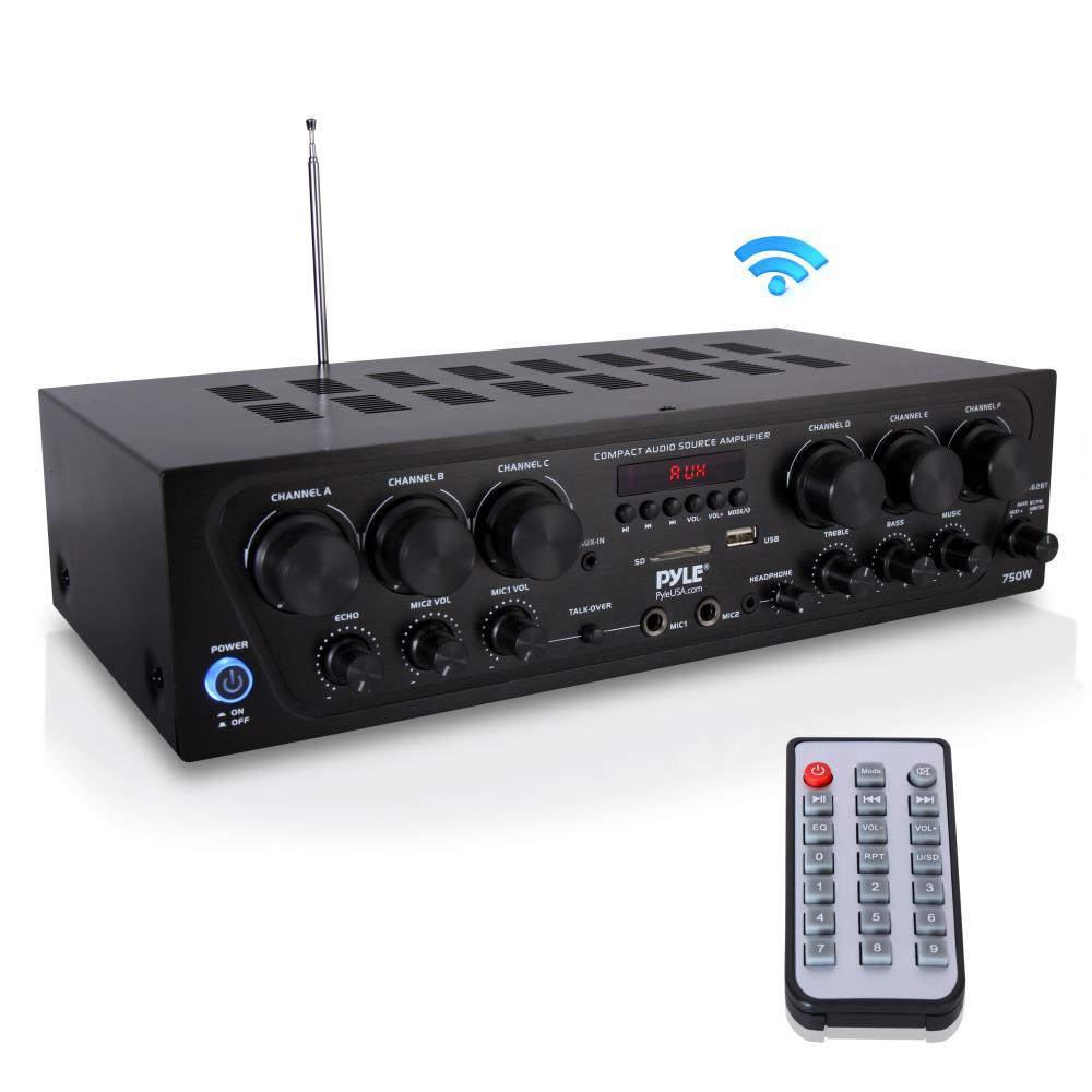 Lectronify - KTPTAT6 - Lectronify 2-Ch. Bluetooth Home Audio ...
