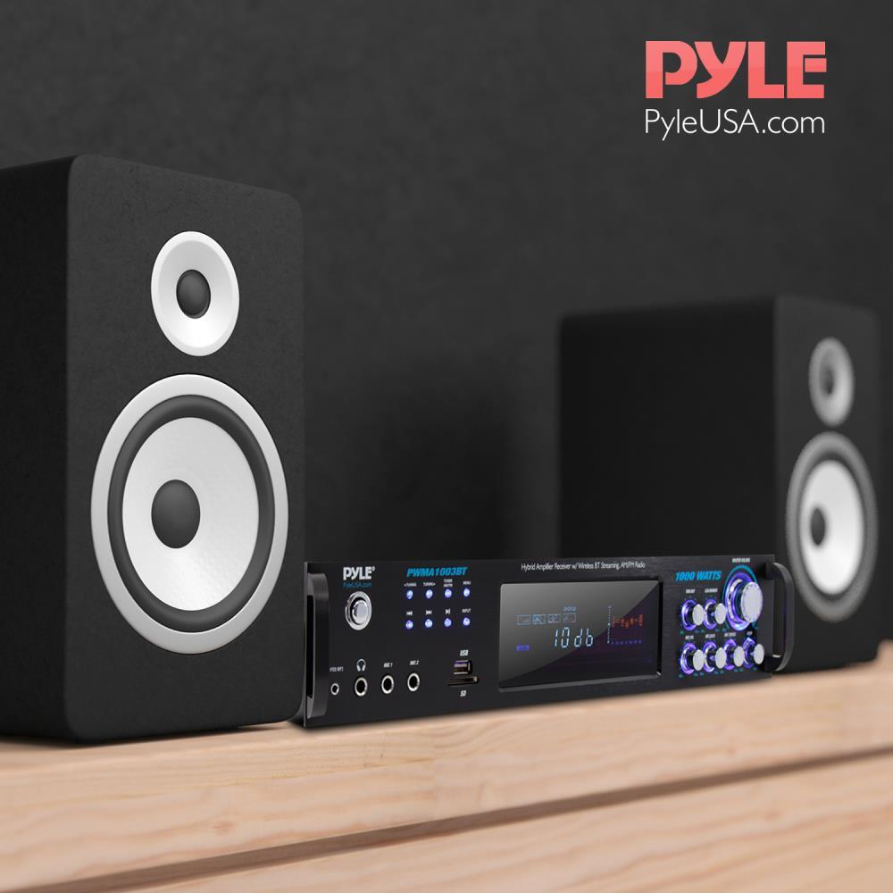 Pyle - PWMA1003BT - Bluetooth Home Amplifier Receiver
