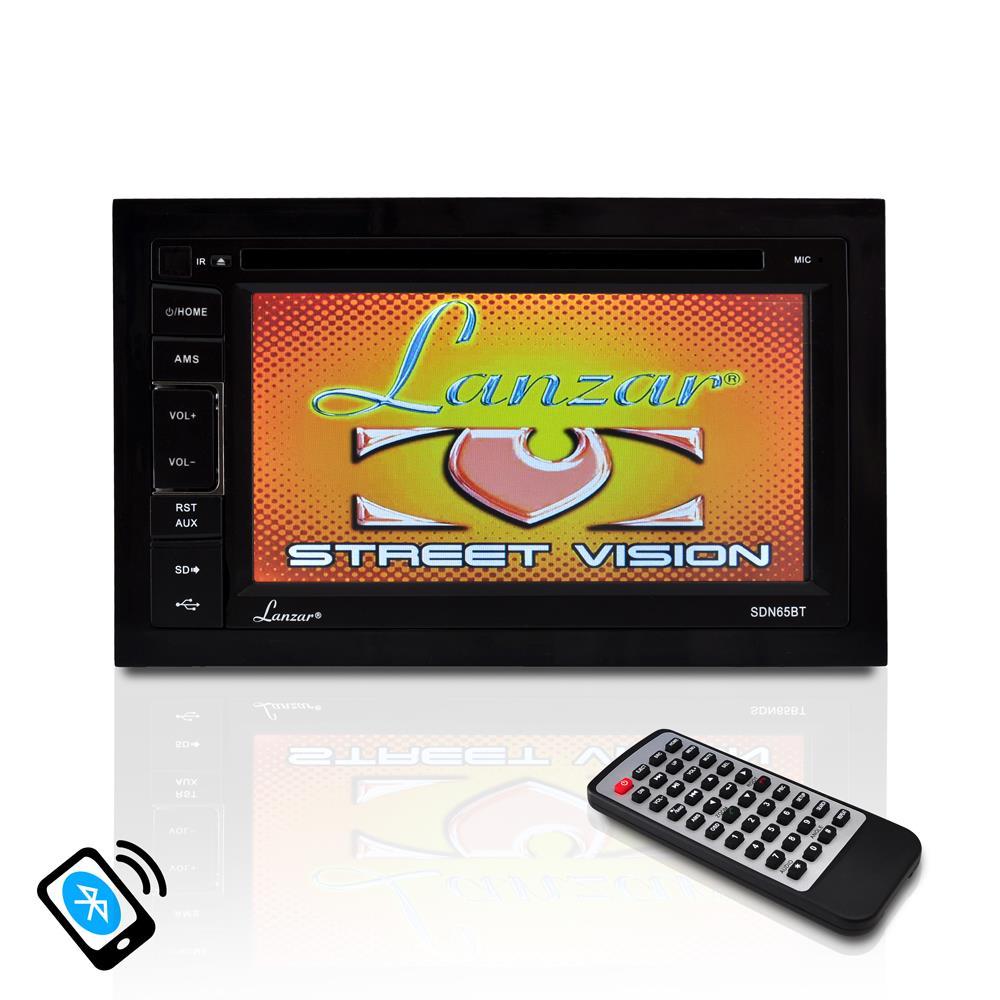 Lanzar Sdn65bt 65 Video Headunit Receiver Bluetooth Wireless Wiring Diagram
