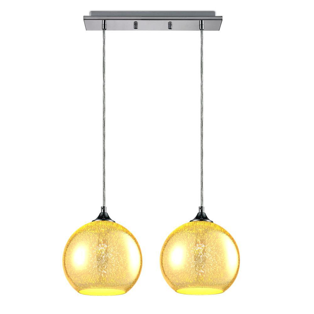 pendant glass lighting. pendant light / dual hanging lamp ceiling fixture, sculpted glass lighting accents