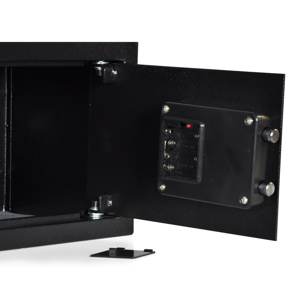Electronic Fingerprint Safe Box with Mechanical Override New Includes Keys