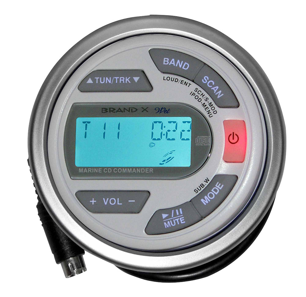BrandX - XXLMC - Marine Secondary Wired Remote Commander with \