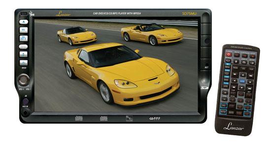 7-TFT-Touch-Screen-DVDVCDCDMP3CD-RUSBAMFMRDS-Receiver