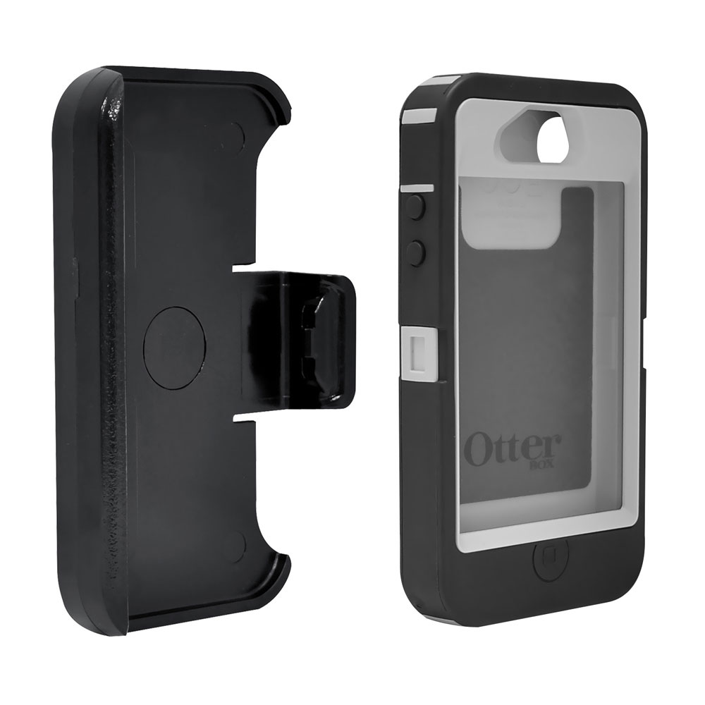 otterbox iphone 4s otterbox 77 20644 defender series holster for 2642