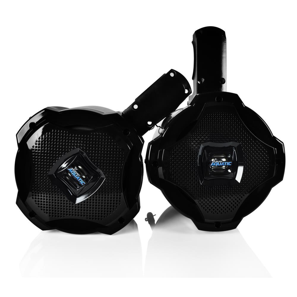 Lanzar Aqawbpr65bk Dual 6 5 Bluetooth Marine