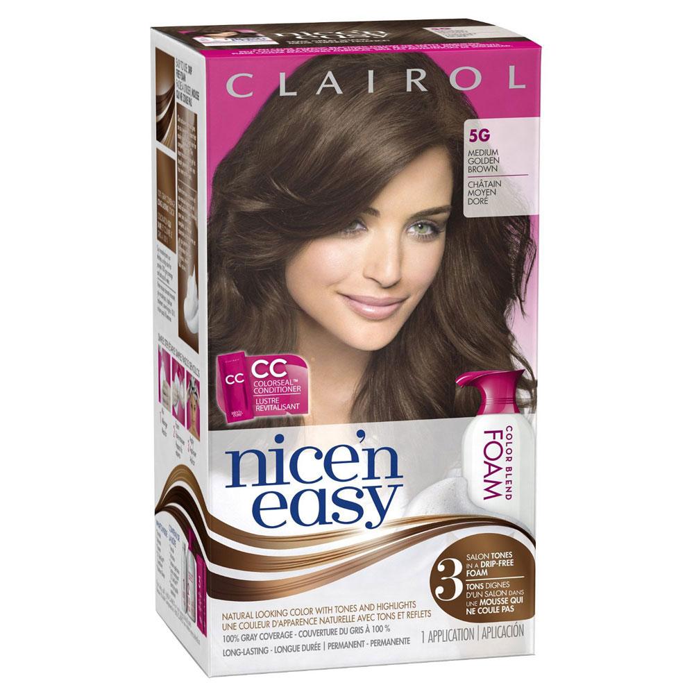 Clairol Clai050336 Nice N Easy Foam Hair Color 5g
