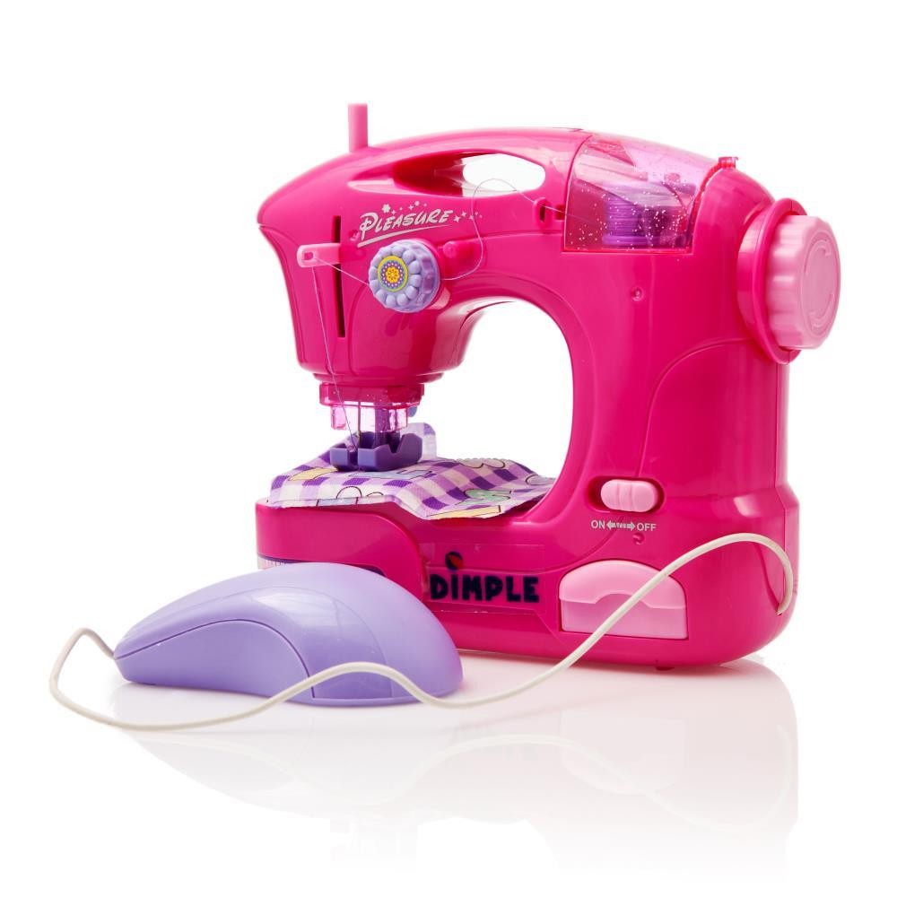 Sew A Toy Car Holder : Dimple dc children s sewing machine toy with