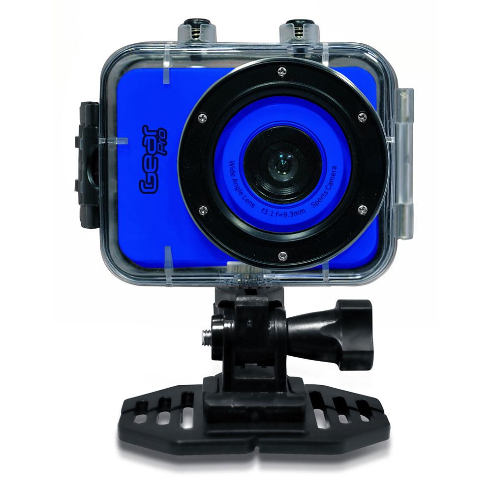Pyle - GDV285BL - Gear Pro HD 1080P Action Camera Hi-Res ...