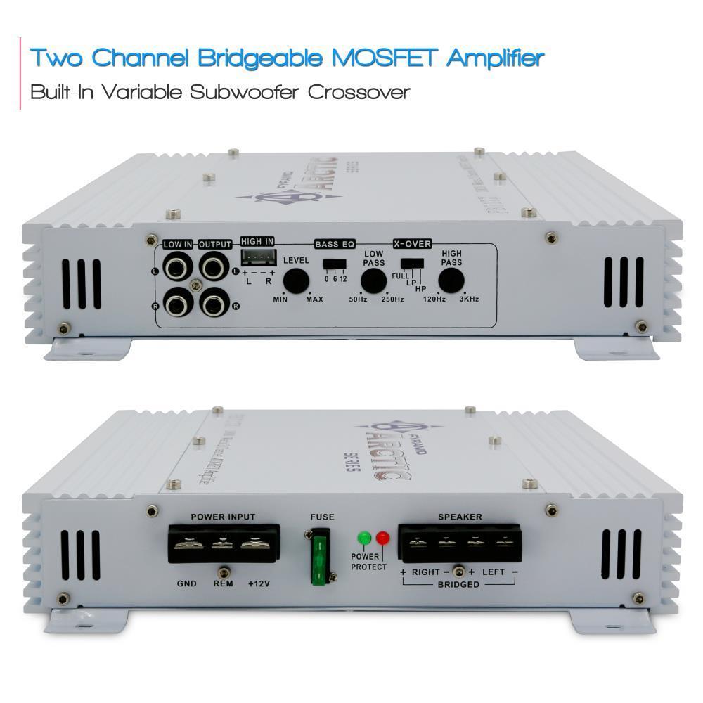 Pyramid Pb717x 1000 Watt 2 Channel Bridgeable Mosfet