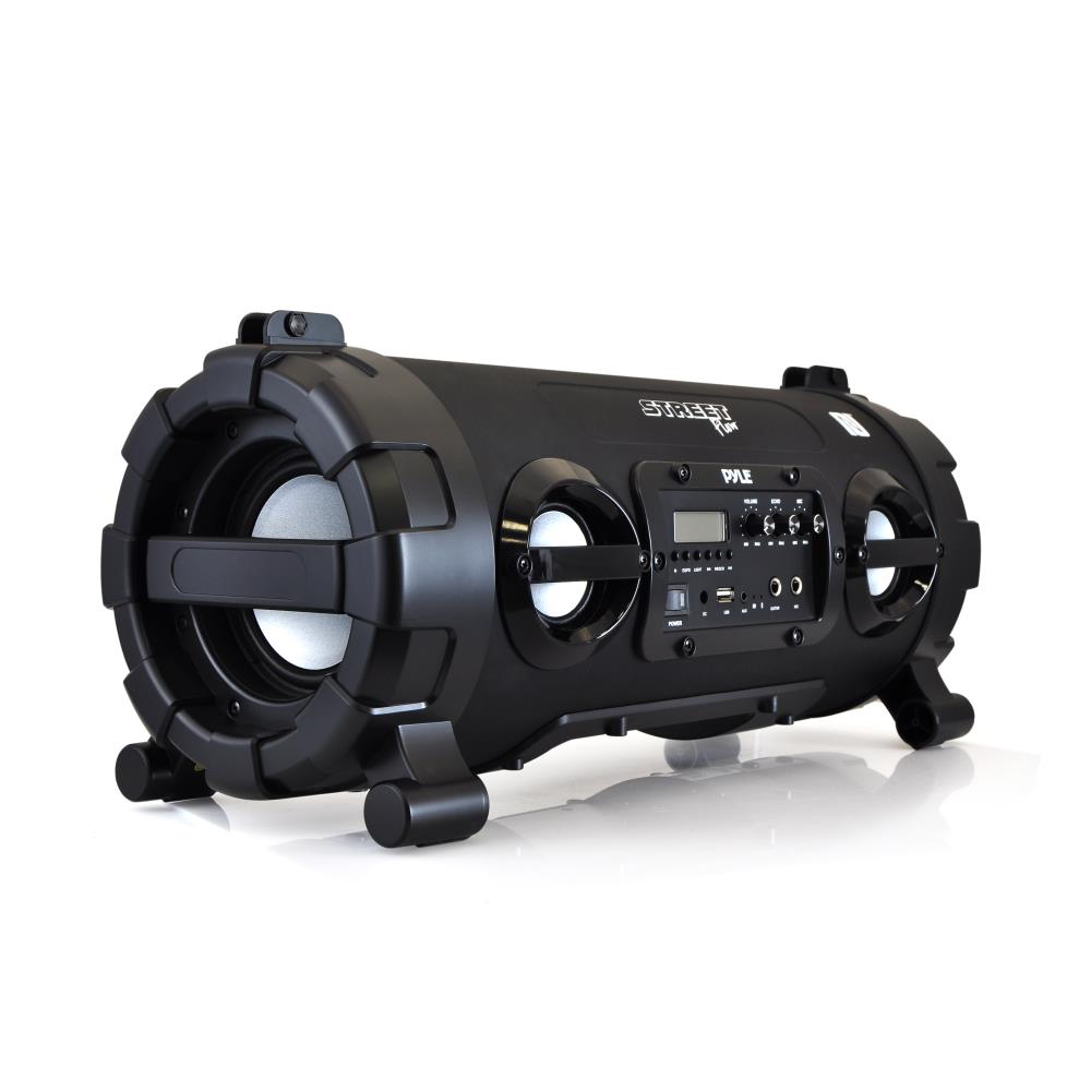 Pyle Pbmspg130bk Wireless Amp Portable Bluetooth Boombox