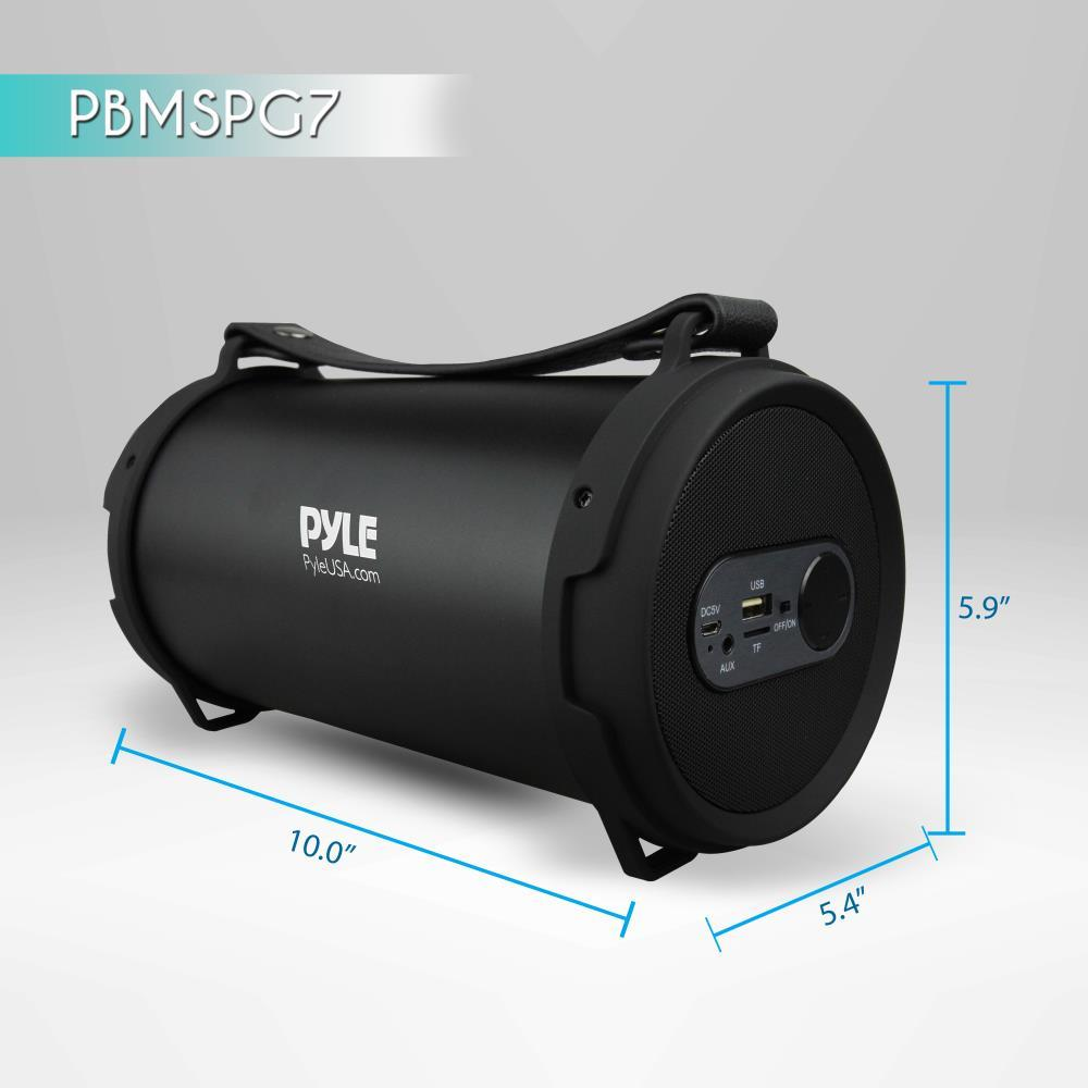 Pyle Pbmspg7 Portable Bluetooth Wireless Boombox