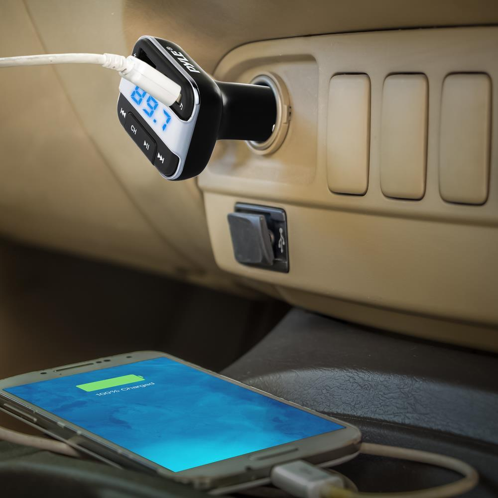 3-in-1 Bluetooth Vehicle FM Transmitter