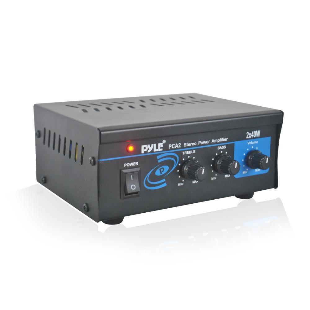 Pylehome Pca2 Mini Audio Amplifier Compact Stereo